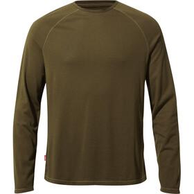 Craghoppers NosiLife Bayame II Longsleeve T-Shirt Heren, dark moss